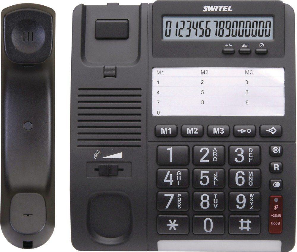 Switel Komfortables Schnurlos-Telefon »TF535«