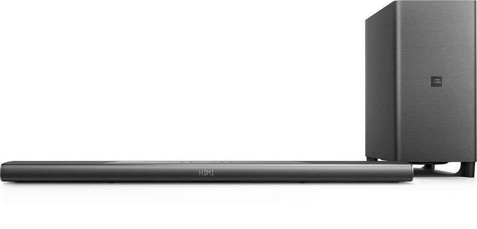 Philips Fidelio 5.1.2 Dolby Atmos® Soundbar mit kabellosem Subwoofer »B8/12« in schwarz