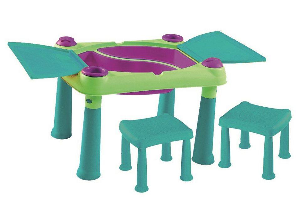 Keter Kreativer Spieltisch mit 2 Hockern »M675«