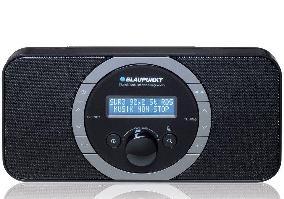 Blaupunkt Digitales DAB+ PLL-UKW Radio, LC-Display und Kopfhöreranschluss »RXD-120« in schwarz