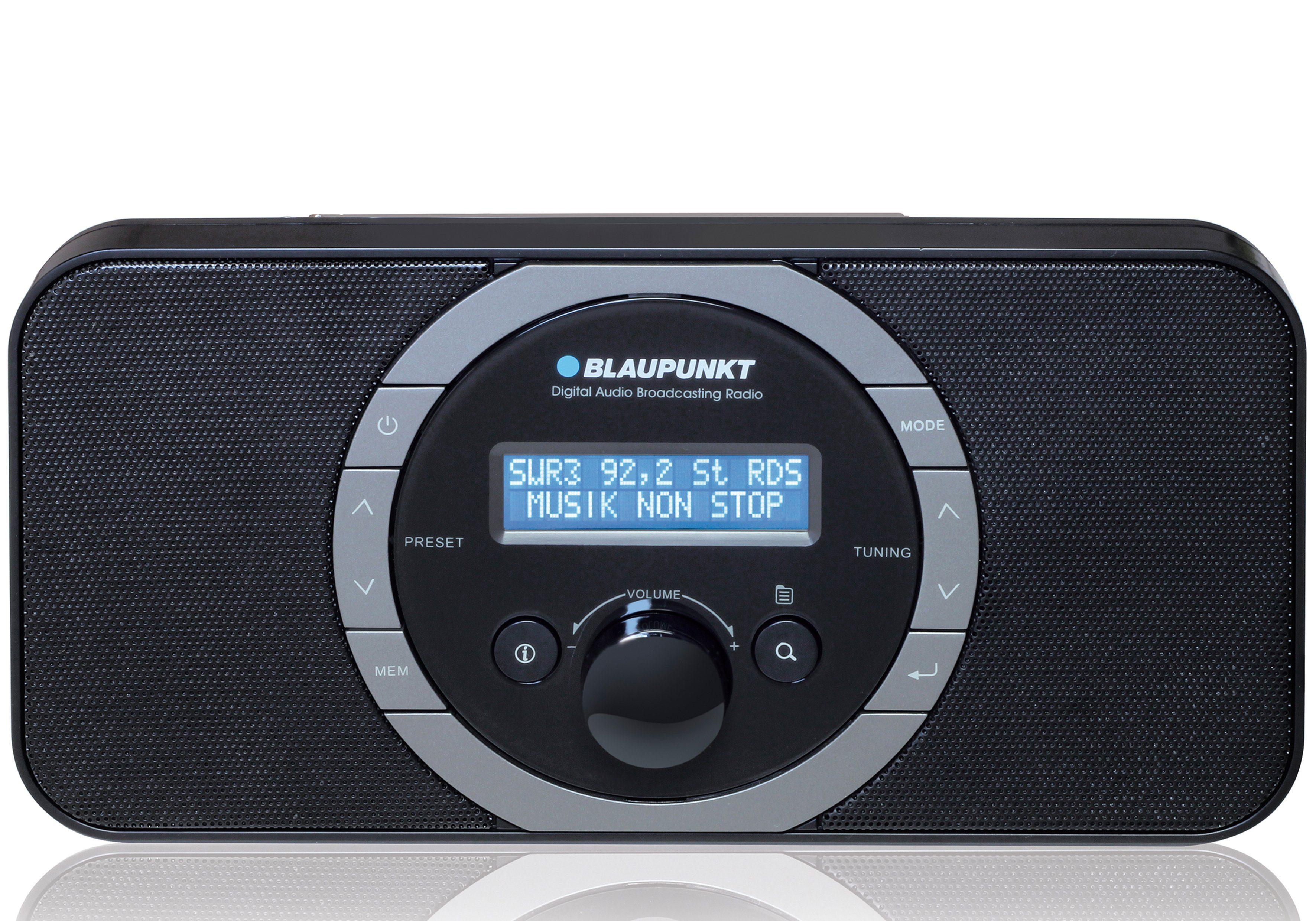 Blaupunkt Digitales DAB+ PLL-UKW Radio, LC-Display und Kopfhöreranschluss »RXD-120«