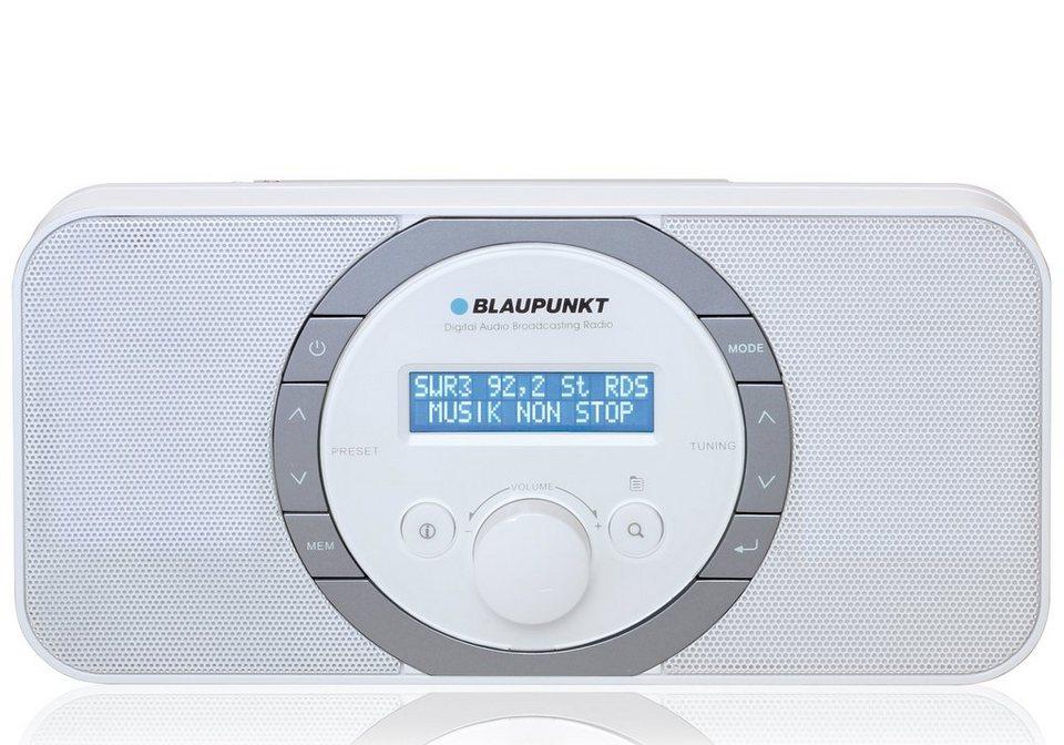 Blaupunkt Digitales DAB+ PLL-UKW Radio, LC-Display und Kopfhöreranschluss »RXD-120« in weiß