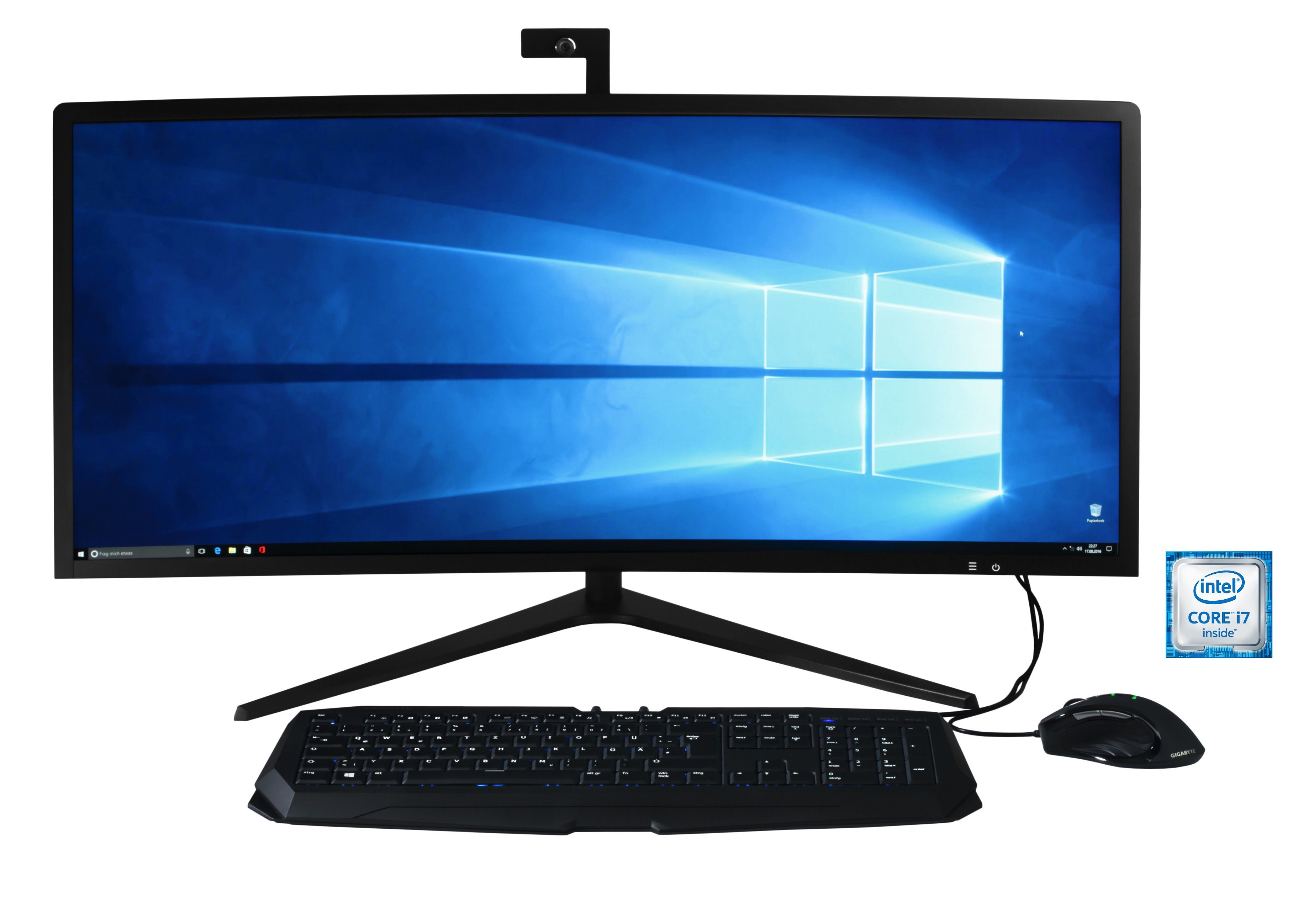 "Hyrican AIO 34"" Curved , Intel® i7-6700K, 16GB, GeForce® GTX 1080 »PCK05300«"