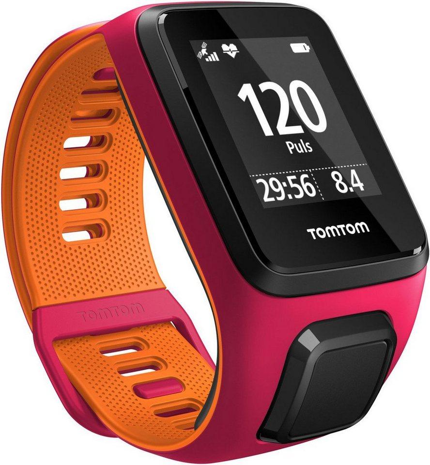 TomTom Activity Tracker »RUNNER 3 Cardio+Music - Small« in Pink-Orange