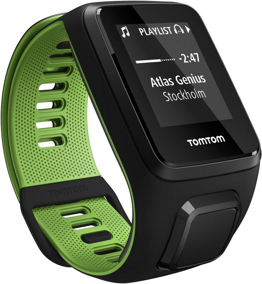 TomTom Activity Tracker »RUNNER 3 Music+BT Headphones - Small« in Schwarz-Grün