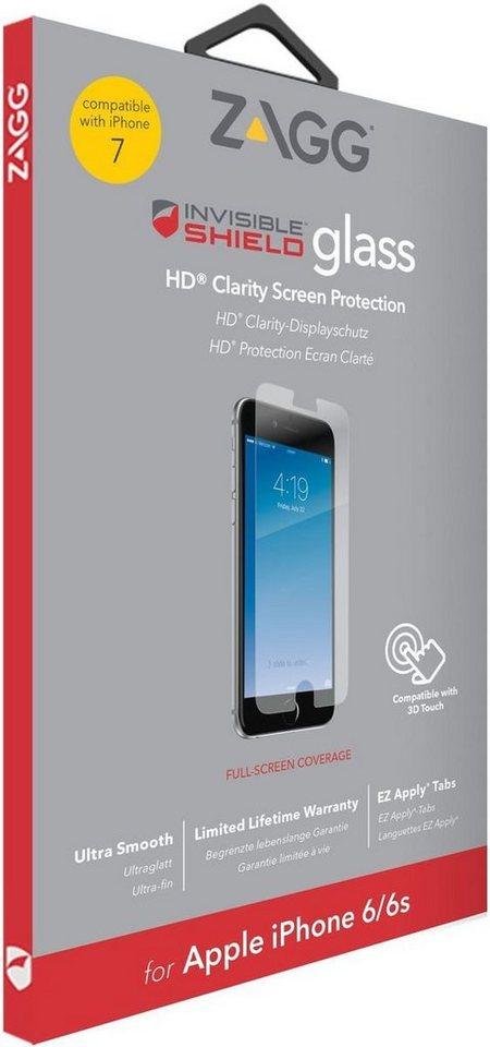 invisibleSHIELD Folie »Glass Displayschutz für Apple iPhone 7« in Transparent