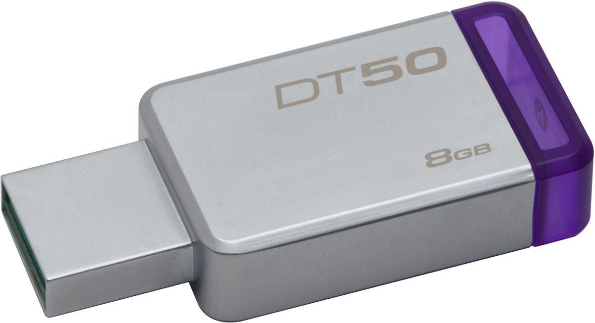Kingston USB-Stick »Data Traveler 50, USB 3.0, 8GB«