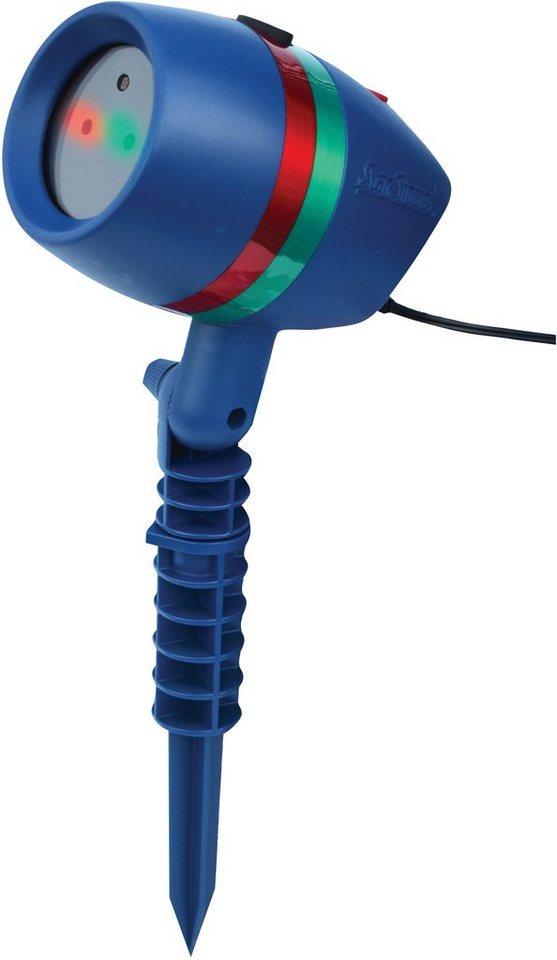 Bewegliches Laserlicht System mit Fernbedienung »Star Shower Motion« in blau