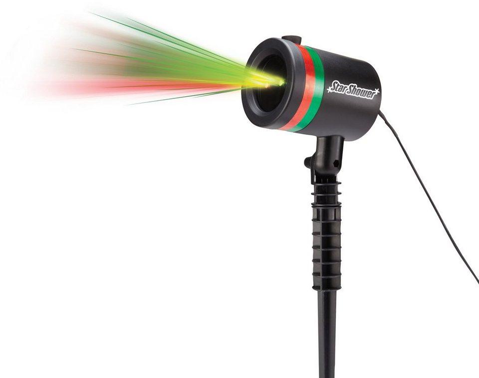 TV Werbung Laserlicht System, »Star Shower« in schwarz