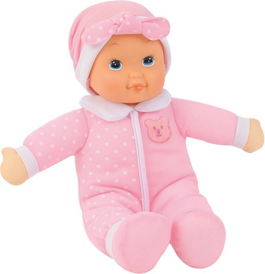 Dimian Babypuppe mit Soundfunktion, »My First Bambolina Doll With Kissing Sounds« in rosa/weiß