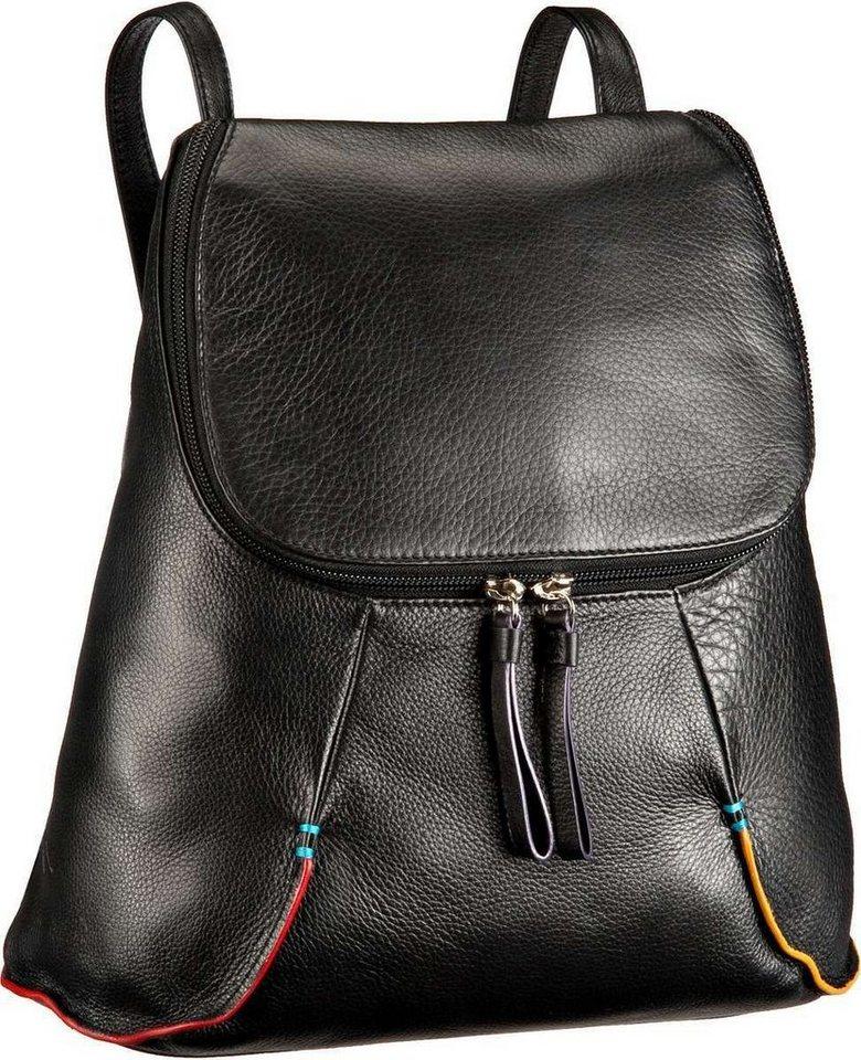 MYWALIT Sanremo Medium Backpack in Black Pace