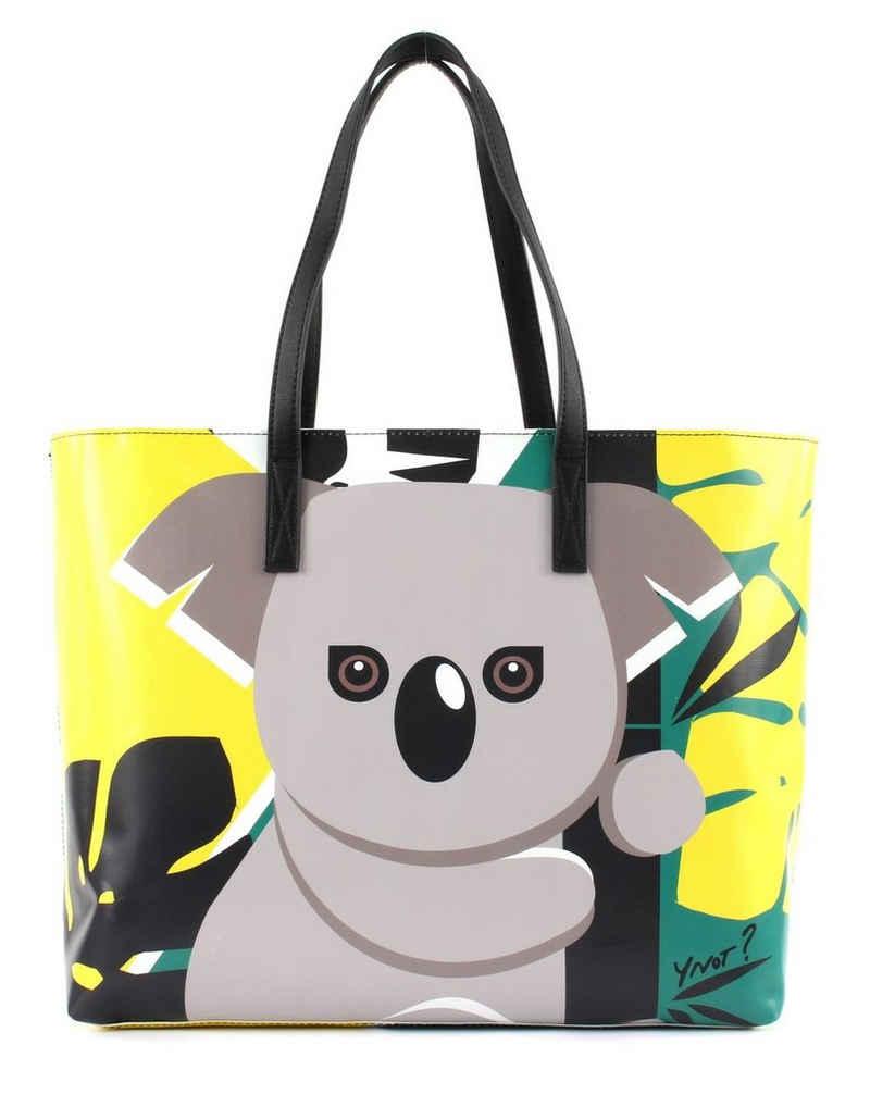 Y Not Schultertasche »Koala« (Set, 2-tlg)