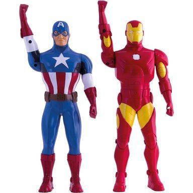 IMC TOYS Avengers Walkie Talkie Figur Iron Man 3 + Captain America