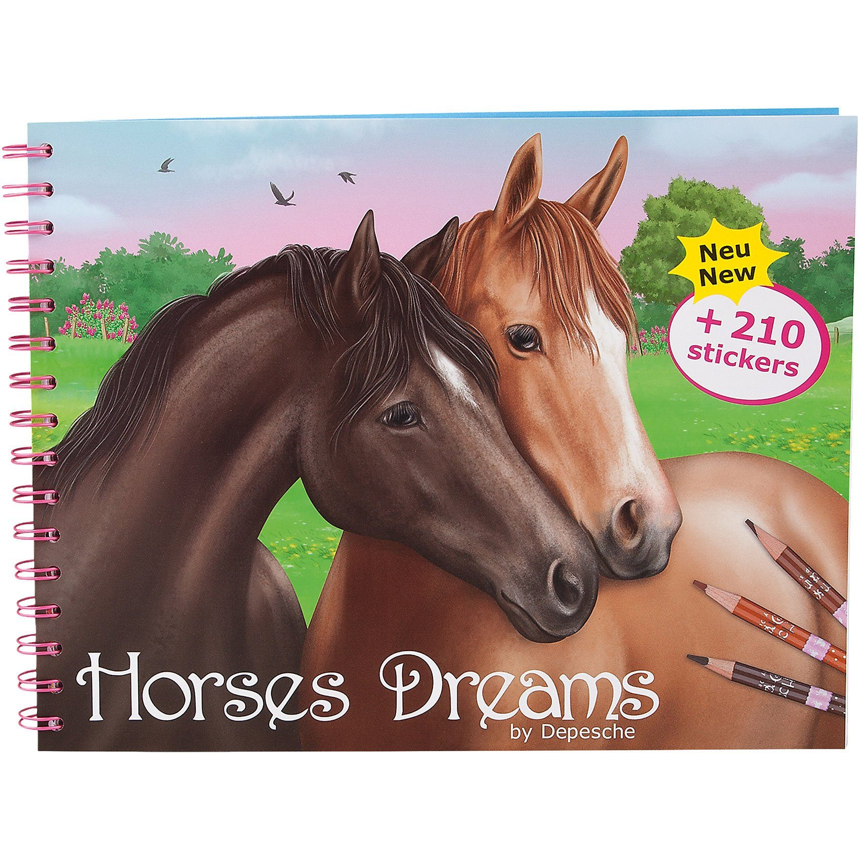 Depesche Malbuch Horses Dreams