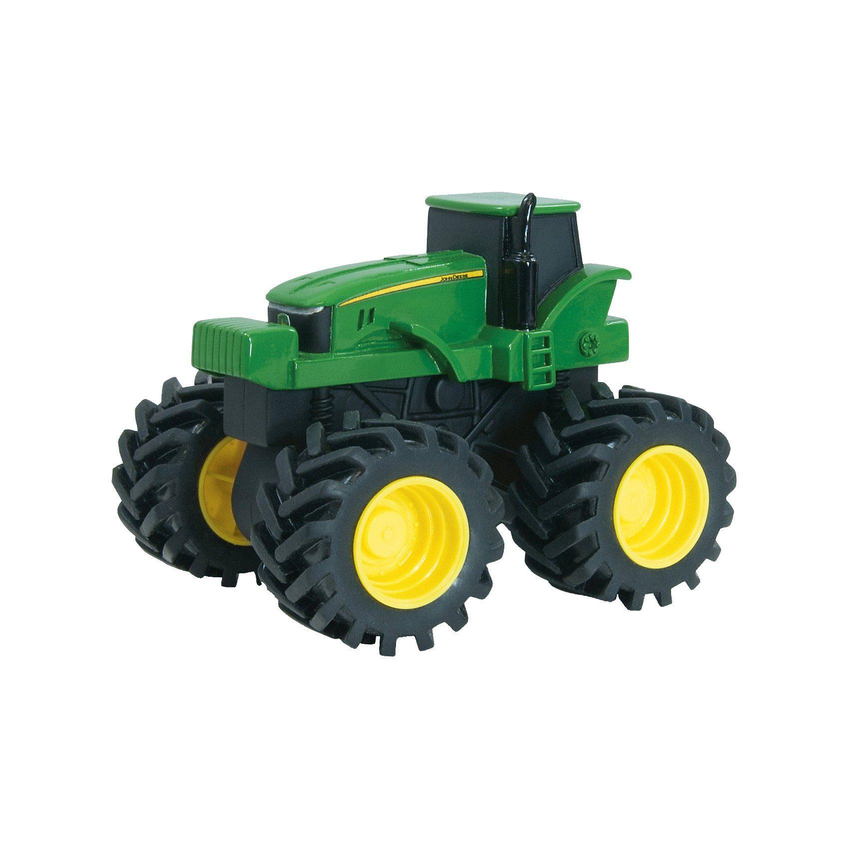 TOMY Monster Treads John Deere Traktor mit Rückziehmotor