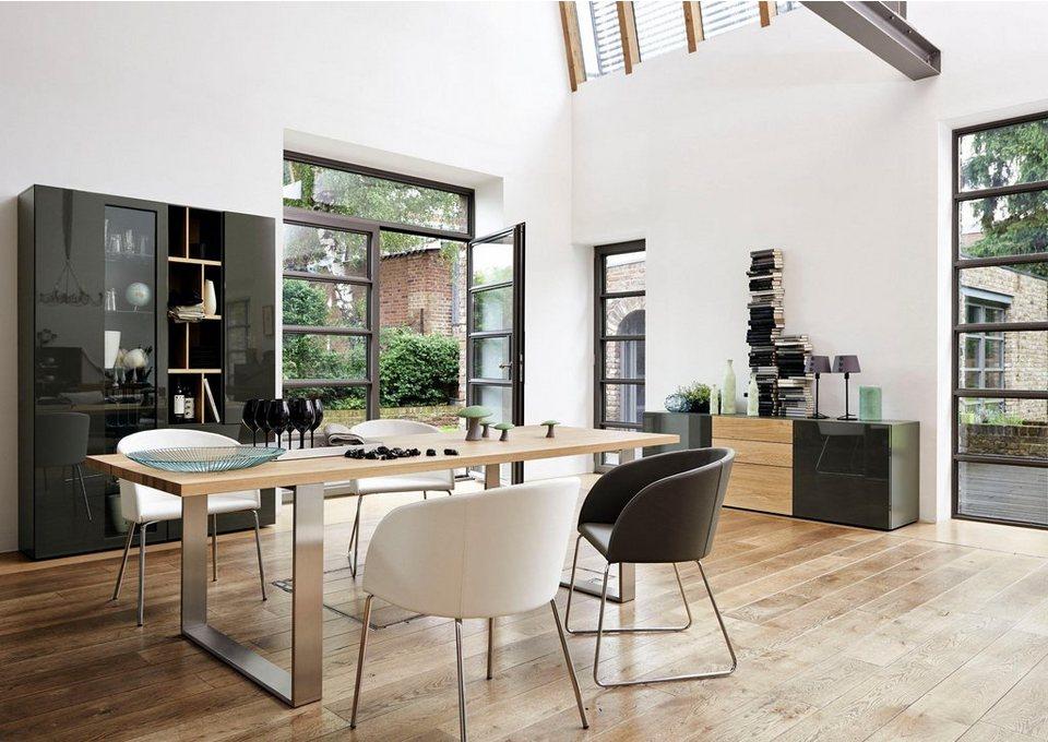 now by h lsta schalenstuhl s 19 1 kufengestell aus. Black Bedroom Furniture Sets. Home Design Ideas