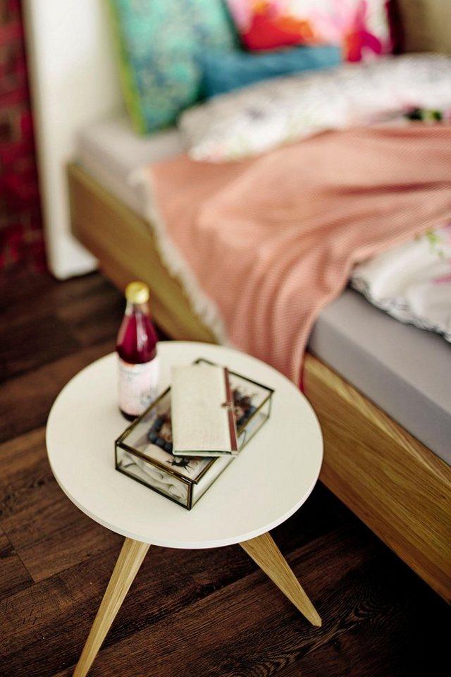 now by h lsta beistelltisch ct 71 massivholzgestell in. Black Bedroom Furniture Sets. Home Design Ideas