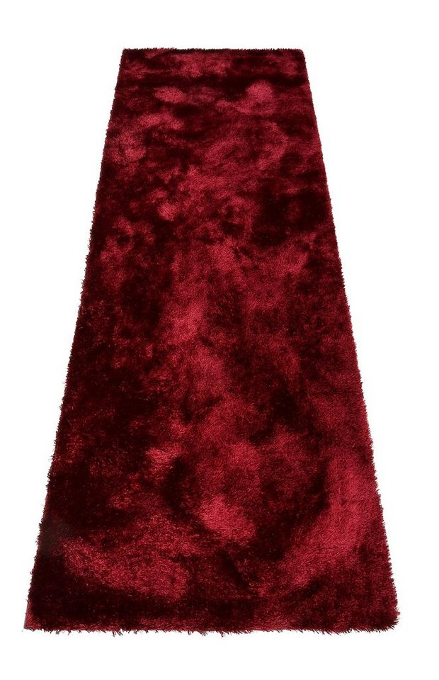 Hochflor-Läufer, Bruno Banani, »Dana«, Höhe 30 mm, maschinengetuftet in burgund
