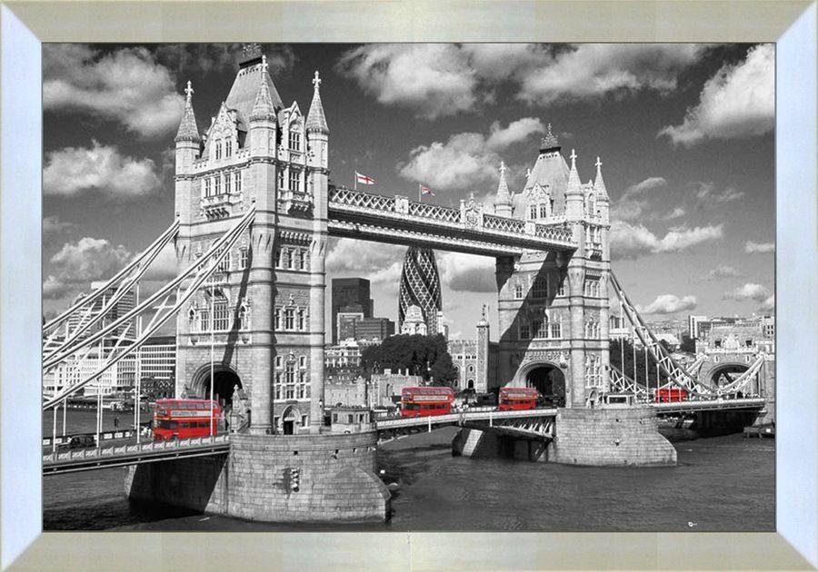 Premium Picture Wandbild »London Bridge England«, 90/60 cm