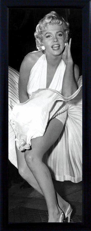 Premium Picture Schattenfugenbild »Marilyn Monroe«, 30/90 cm