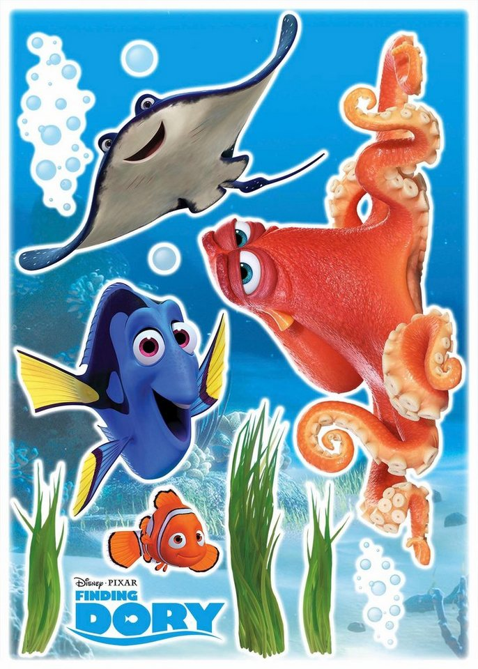 Komar Deco Sticker »Dory and Friends«, 50/70 cm in bunt