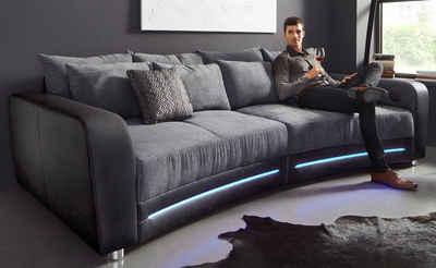 Sofa halbrund-geschwungen  Big Sofa online kaufen » Megasofa & Big Couch | OTTO