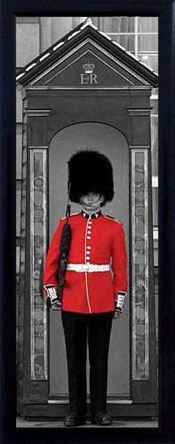 Premium Picture Schattenfugenbild »Wache am Buckingham Palace«, 30/90 cm