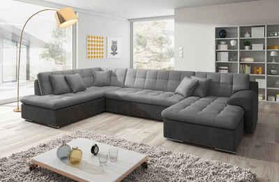 Wohnlandschaft grau  Wohnlandschaft online kaufen » Sofa in U-Form | OTTO