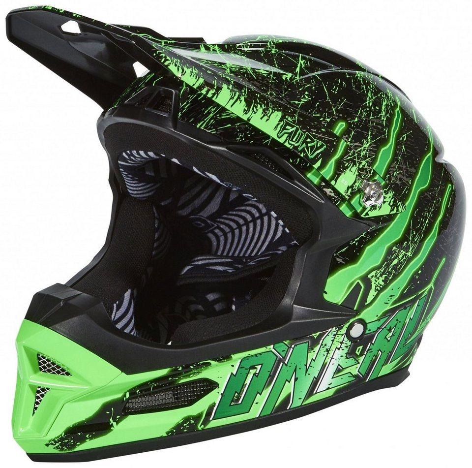 O'NEAL Fahrradhelm »Fury RL Helmet Crawler« in schwarz