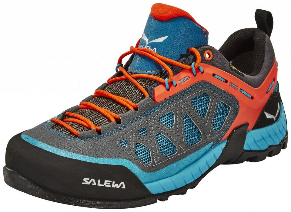 Salewa Kletterschuh »Firetail 3 GTX Approach Shoes Women« in blau