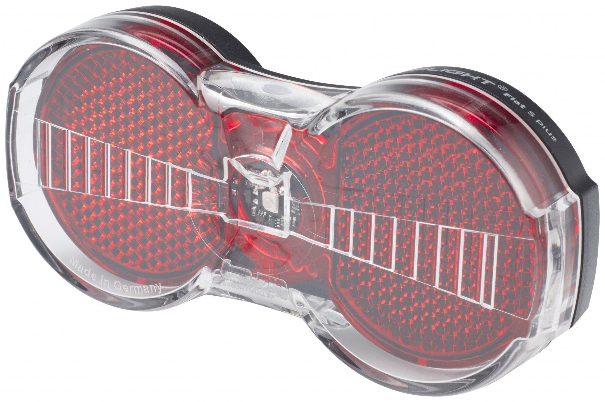 Busch + Müller Fahrradbeleuchtung »Toplight Flat S plus Dynamo-Rücklicht«