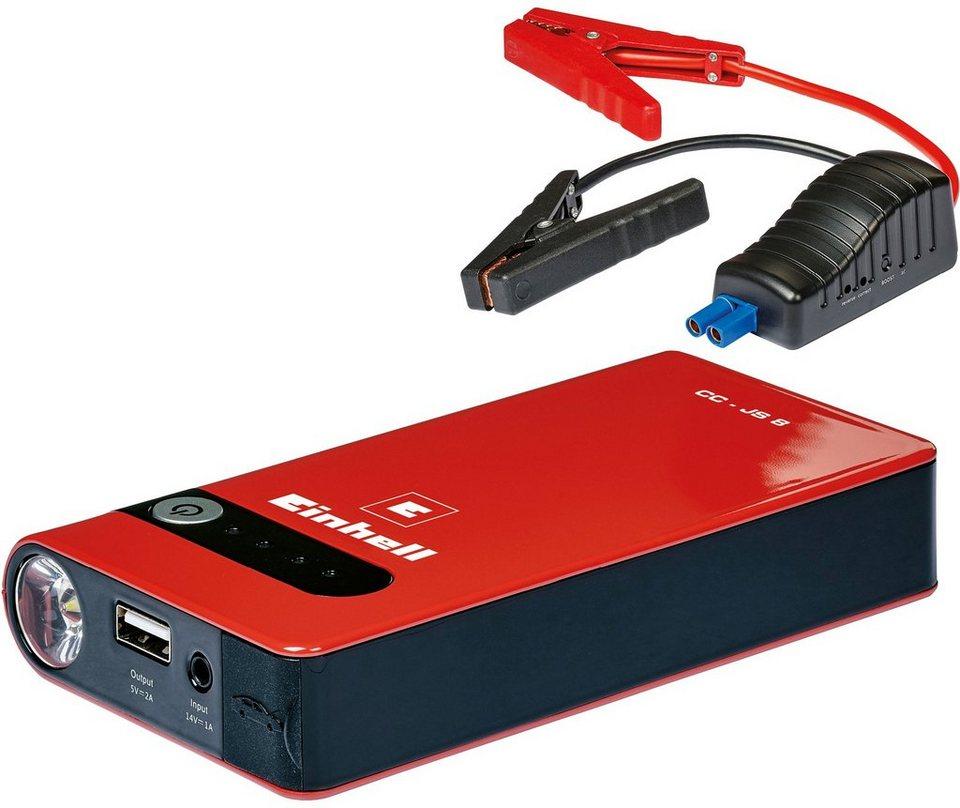 Batterieladegerät »Power Bank CC-JS 8« in rot
