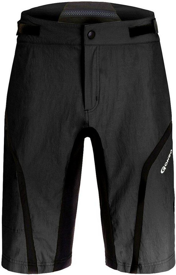Gonso Radhose »Rich V2 Shorts Herren« in schwarz