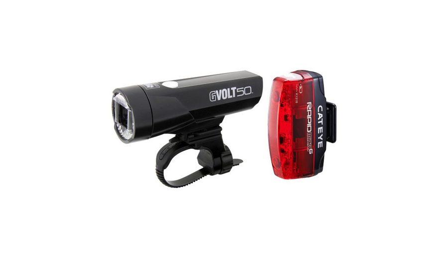 CatEye Fahrradbeleuchtung »GVolt 50 HL-EL550GRC + Rapid Micro G Hl-EL620G Set«