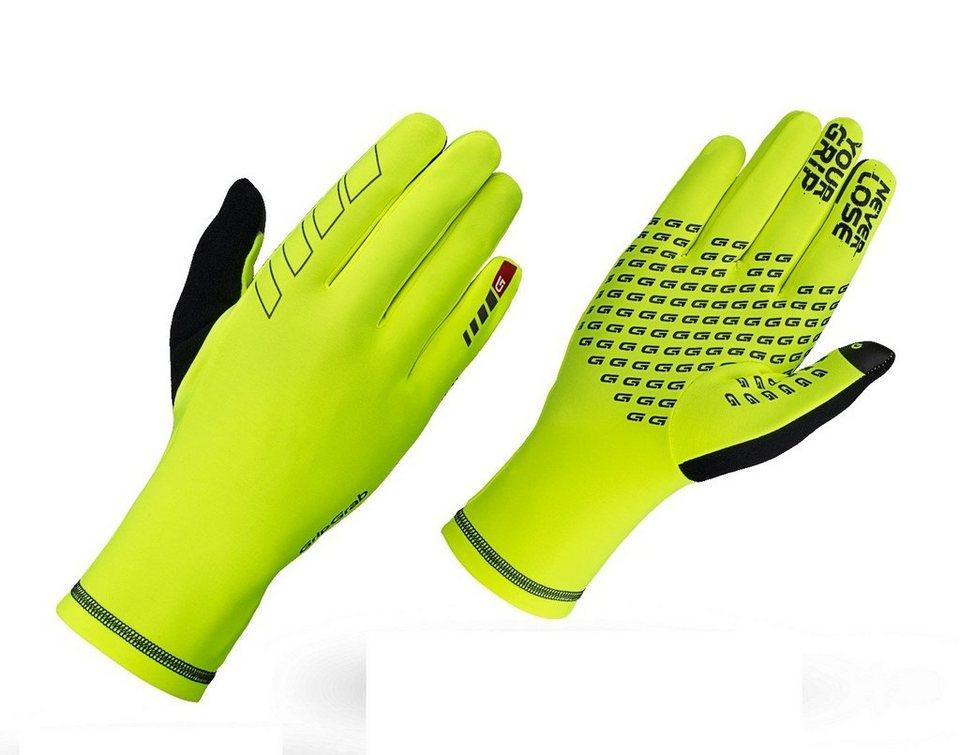 GripGrab Fahrrad Handschuhe »Insulator Hi-Vis Gloves« in gelb