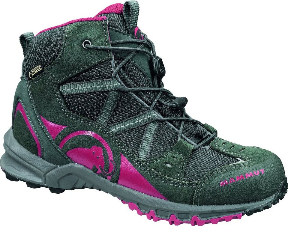 Mammut Stiefel »Nova Mid GTX Shoes Kids« in grau