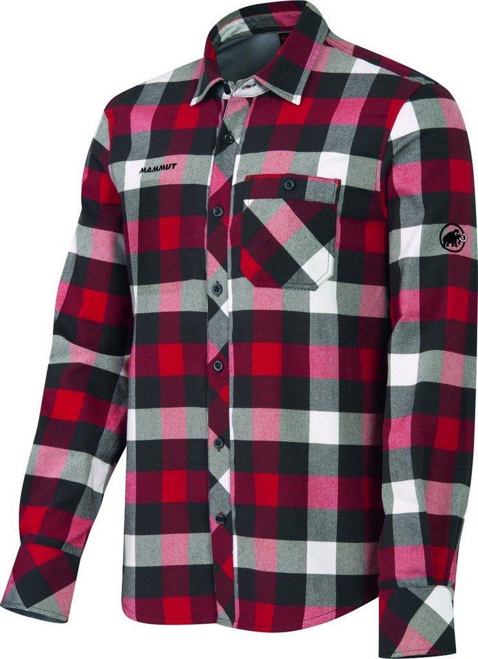 Mammut Sweatshirt »Belluno Winter Longsleeve Shirt Men« in rot