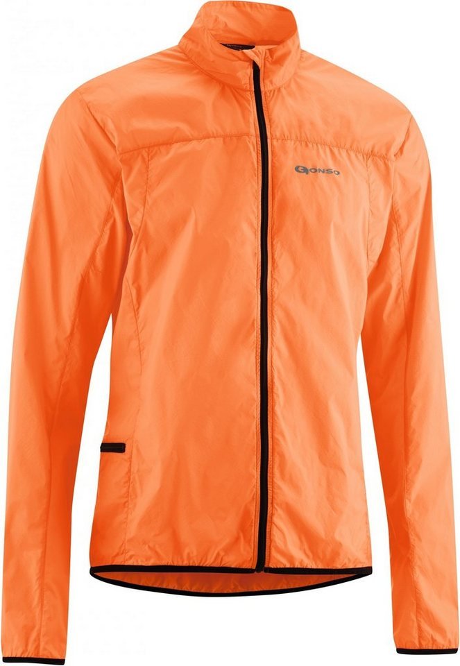 Gonso Radjacke »Windjacke Herren« in orange