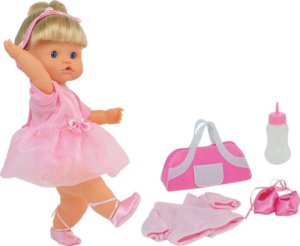 Dimian Stehpuppe mit Trinkfunktion, »Bambolina Nena Ballerina« in rosa