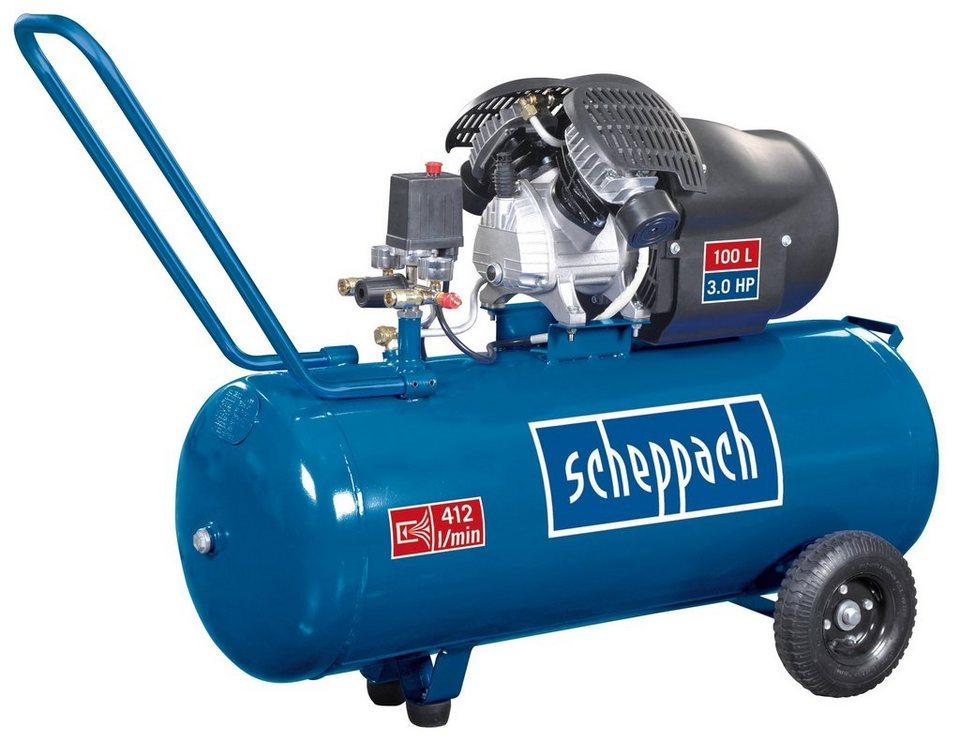 Doppelzylinder Kompressor »HC100DC « in blau