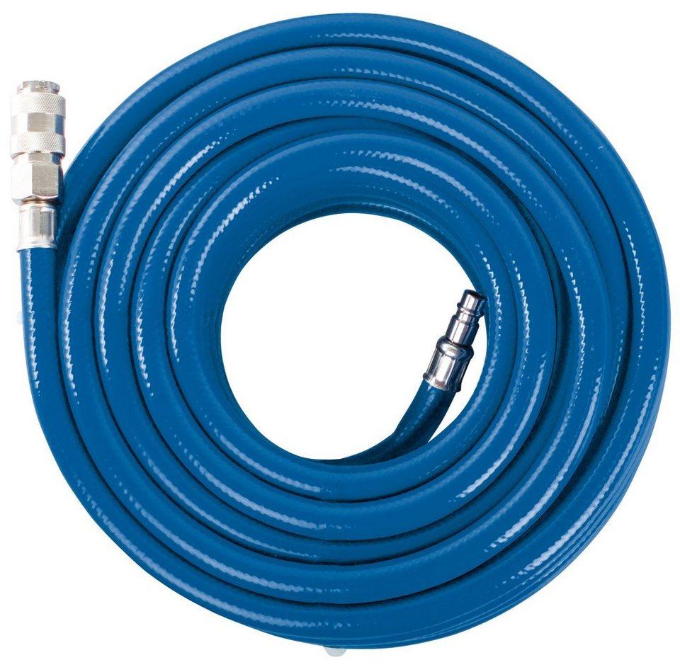 Druckluftzubehör »Schlauch für Kompressor 15 m« in blau