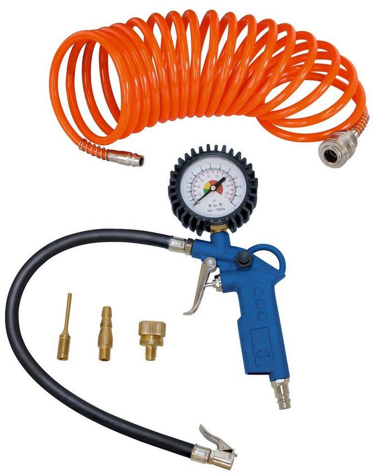 Druckluftzubehör »Kompressorzubehörset 5 tlg.« in blau