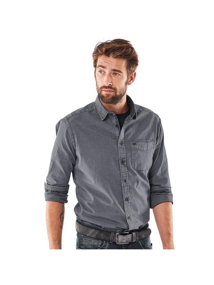 engbers Hemd in Stahlgrau