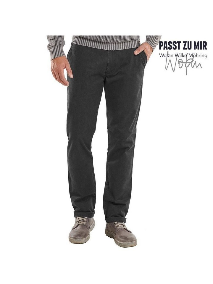 engbers Chino straight in Anthrazit