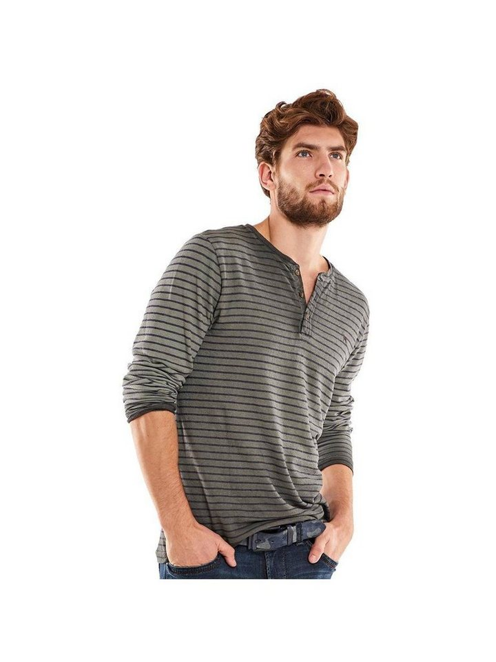 emilio adani T-Shirt in Kieselgrau