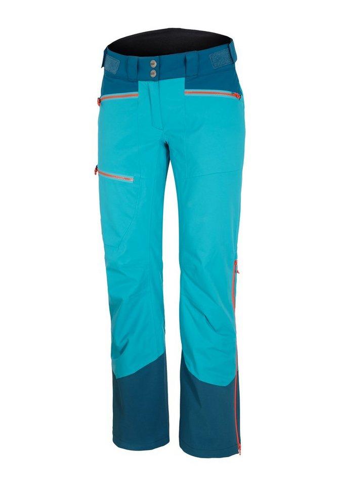 Ziener Hose »TANEC lady pant« in blue ocean