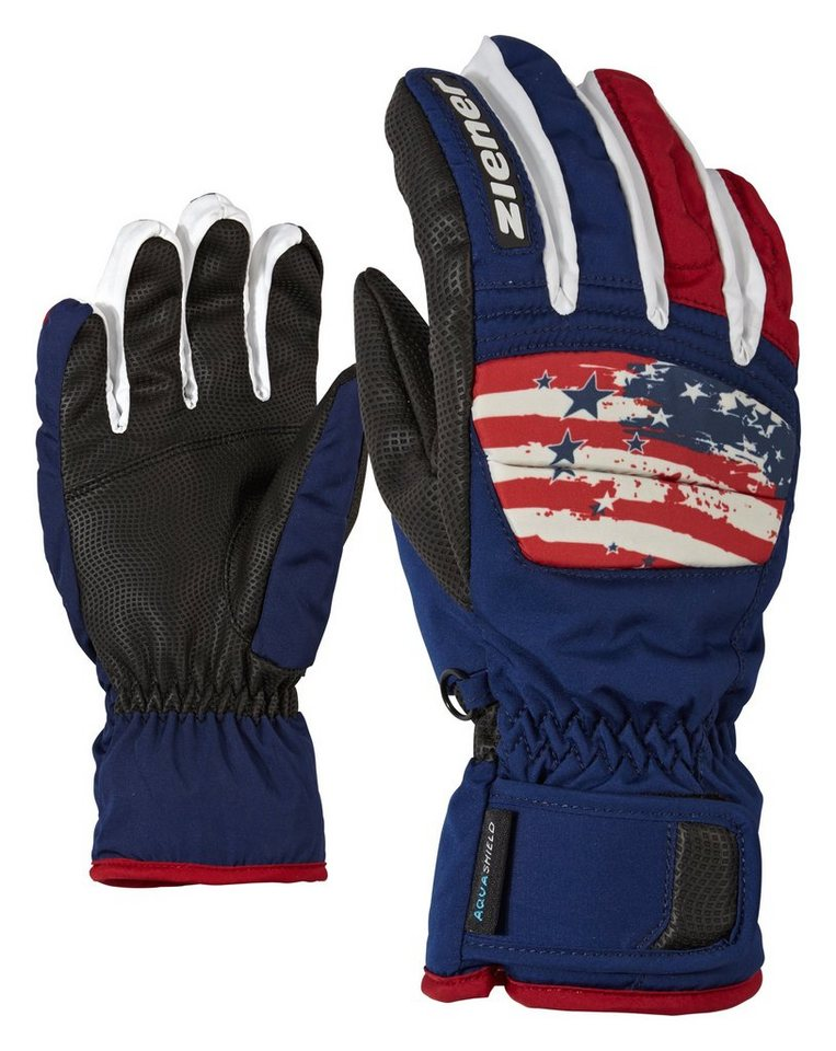 Ziener Handschuh »LIAN AS(R) glove junior« in USA.vista blue