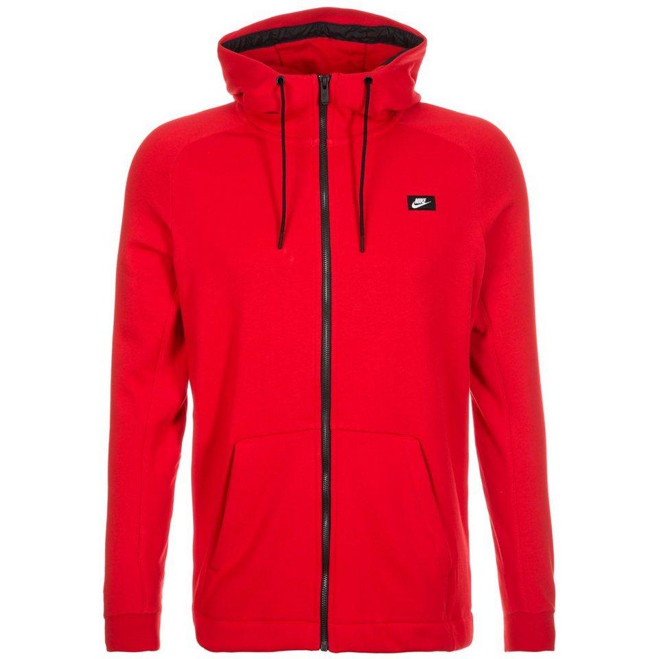 Nike Sportswear Modern Kapuzenjacke Herren in rot / schwarz