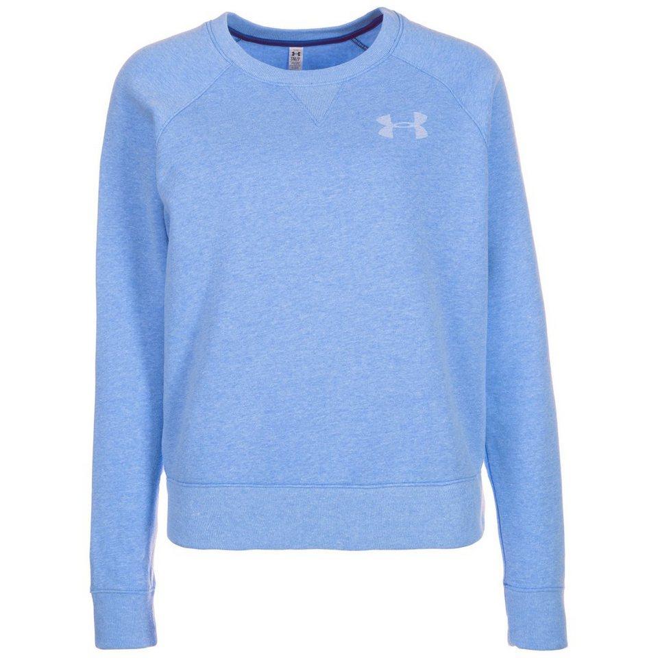 Under Armour® AllSeasonGear Favorite Trainingssweat Damen in hellblau / weiß