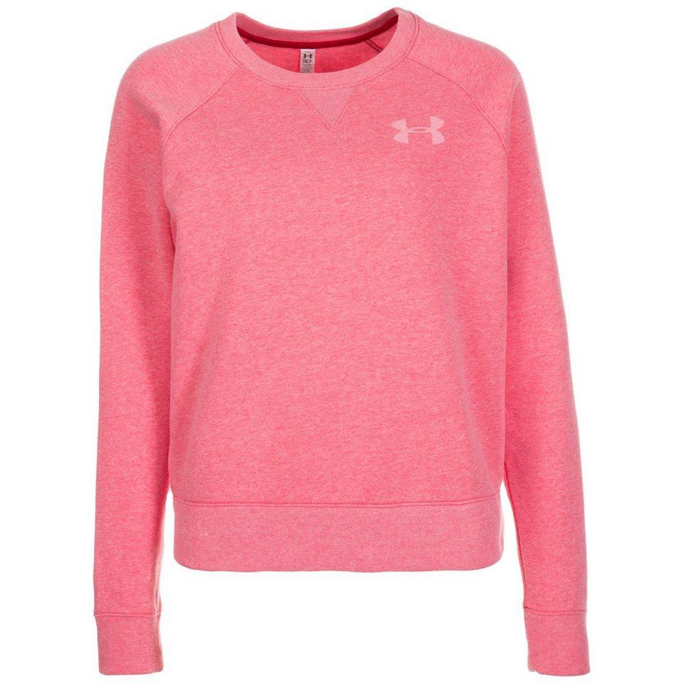 Under Armour® AllSeasonGear Favorite Trainingssweat Damen in rosa / weiß